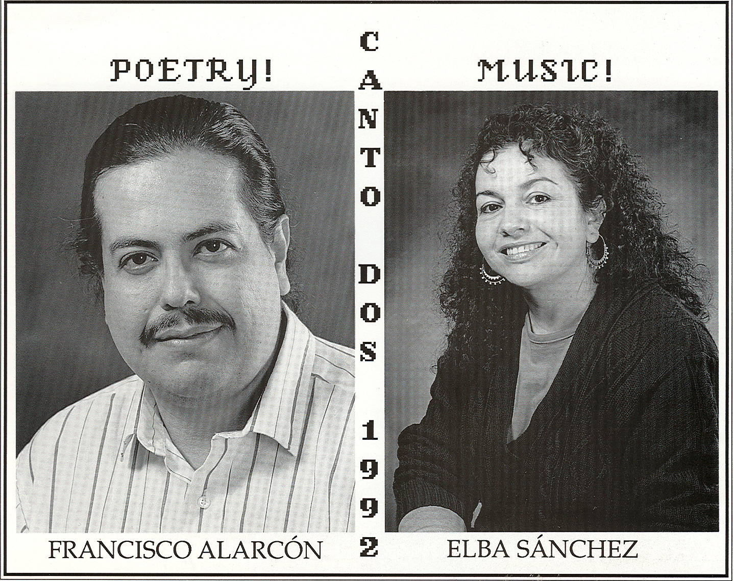 Francisco X. Alarcón and Elba Rosario Sánchez
